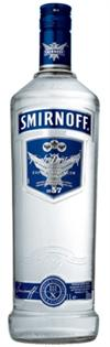 Smirnoff Vodka Blue No. 57 100@ 375ml